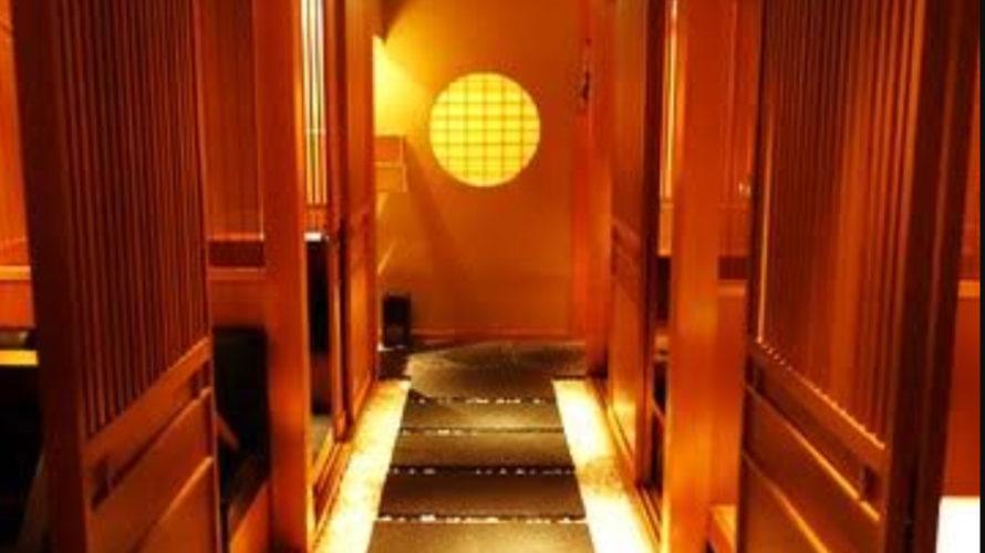 銀座の和風クラブ、竹川の店内画像
