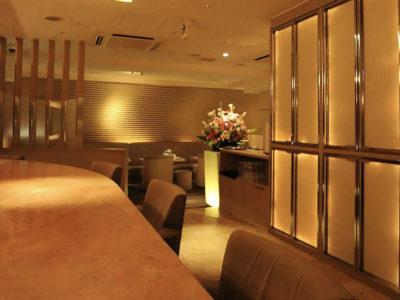 銀座のキャバクラ、パイザクラブの店内画像