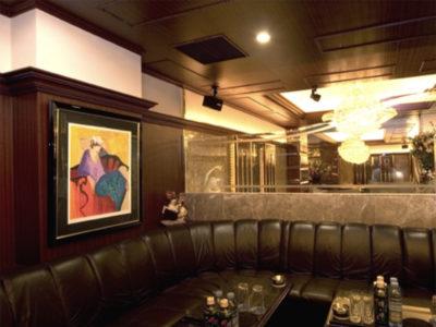 銀座のニュークラブ、マティオの店内画像