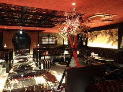 六本木の高級キャバクラ、舞人(MAITO)の店内画像