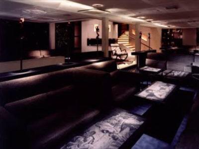 六本木のニュークラブ、ミュゼルバの店内画像