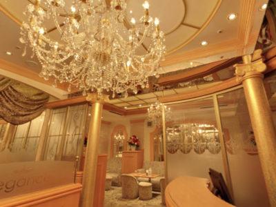 銀座のクラブ、エレガンスアンドプリティの店内画像