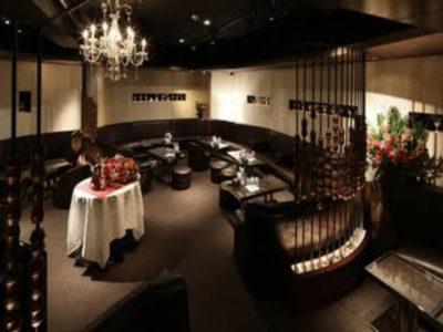 六本木のクラブ、美ノ間の店内画像