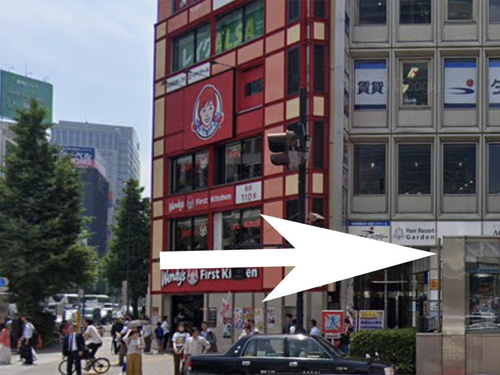西新宿スイートボックスへの道